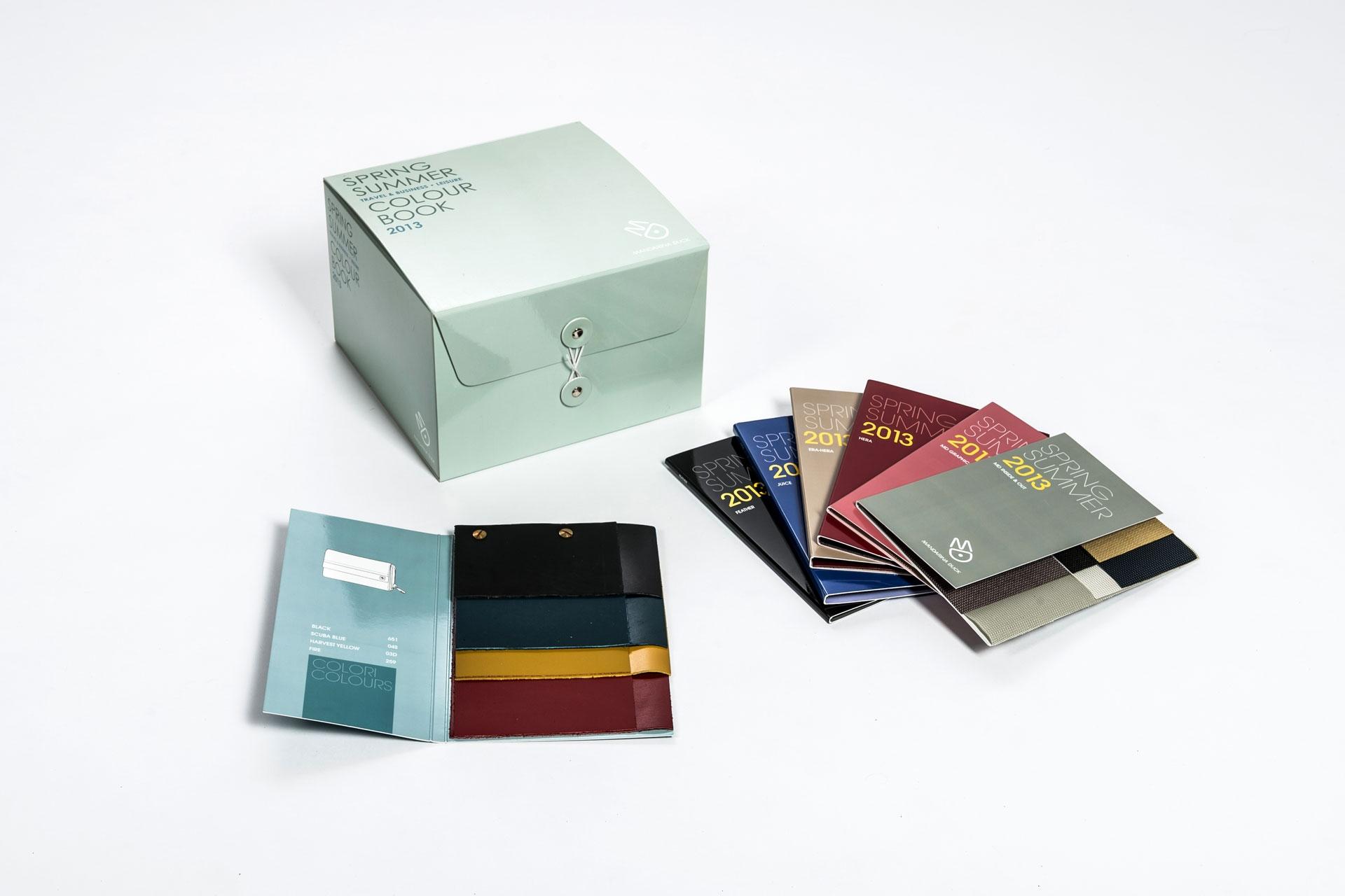 Espositore campioni | Mandarina Duck - Centroffset stampa, packaging, grafica