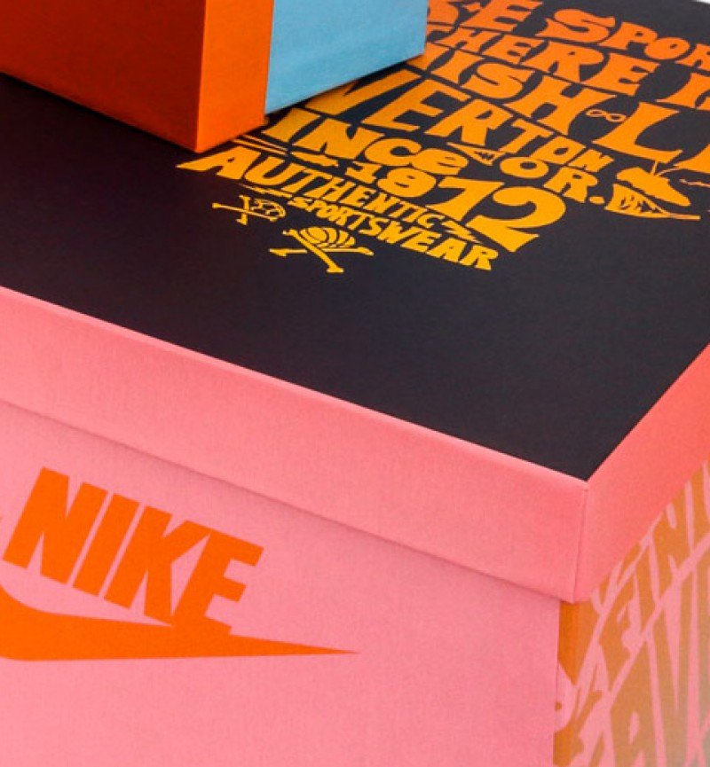 Elementi espositivi | Nike Mexico - Centroffset stampa, packaging, grafica