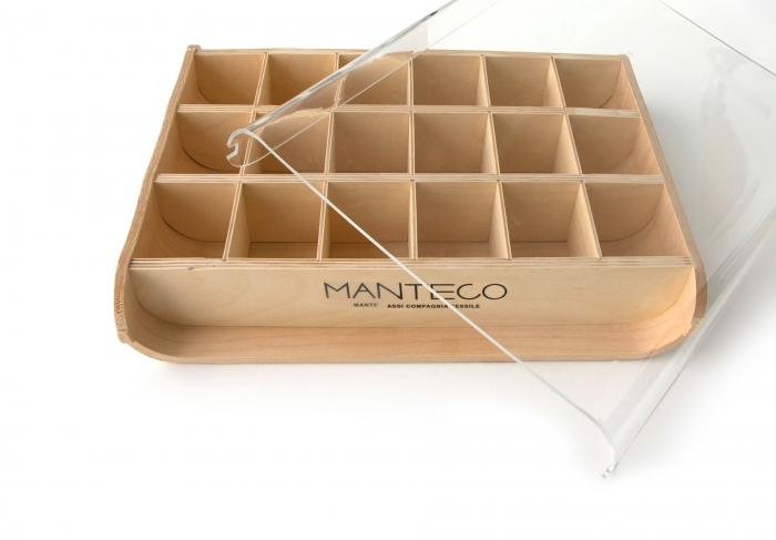 Espositore campioni | Manteco - Centroffset stampa, packaging, grafica