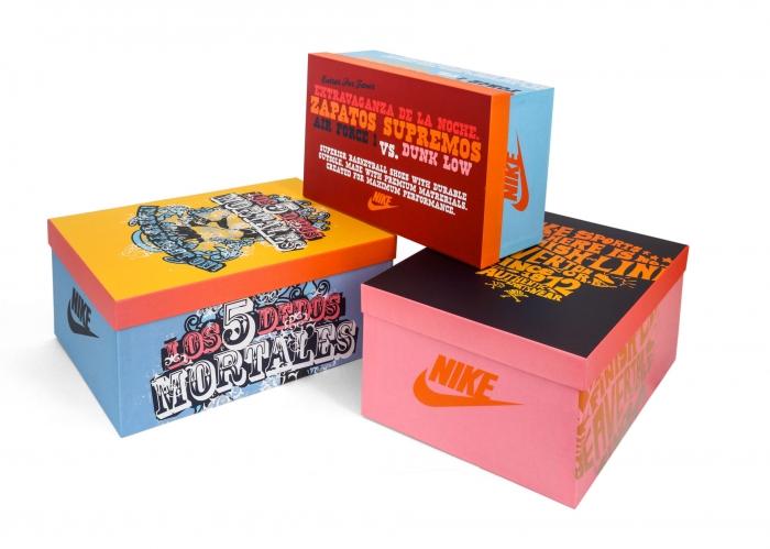 Elementi espositivi | Nike Mexico - Centroffset stampa, packaging, grafica