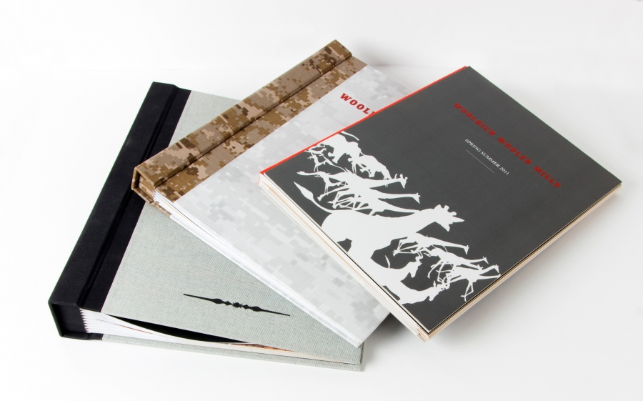 Campionario Tessuti   Woolrich - Centroffset stampa, packaging, grafica